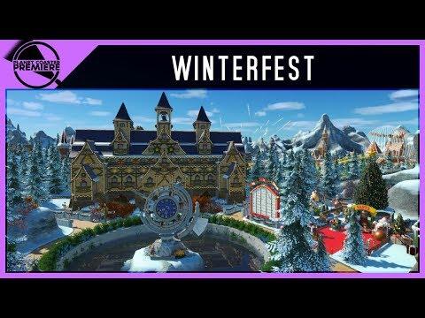 WinterFest [ Steam Trailer ] | Planet Coaster Premiere | 4Kᵁᴴᴰ