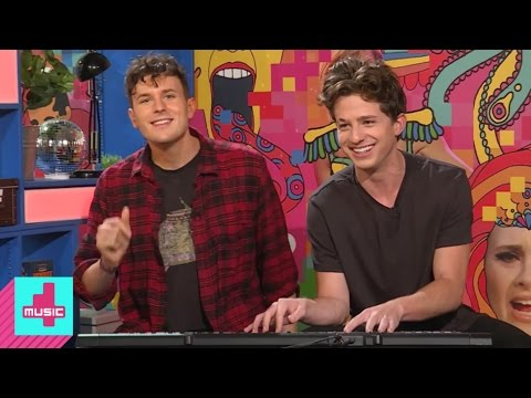 Charlie Puth's teaches Jimmy to play