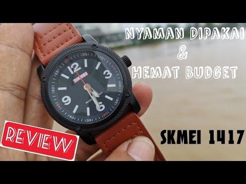 Review jam tangan SKMEI 1417 brown