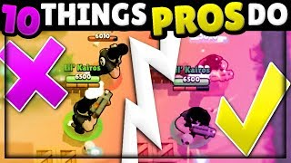 Gambar cover Do YOU Use These 10 PRO Skills That CRUSH Noobs?! | Brawl Stars Pro Tips