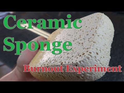 Ceramic Sponge - Experimental