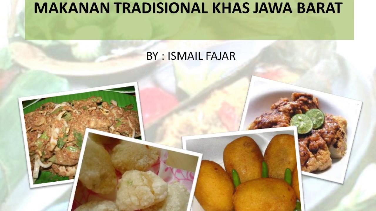 Makanan Tradisional Jawa Barat Youtube