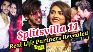 TOP 10 SPLITSVILLA 11 CONTESTANTS REAL LIFE PARTNERS REVEALED WITH NAME | SHRUTI & BASEER ARE DATING