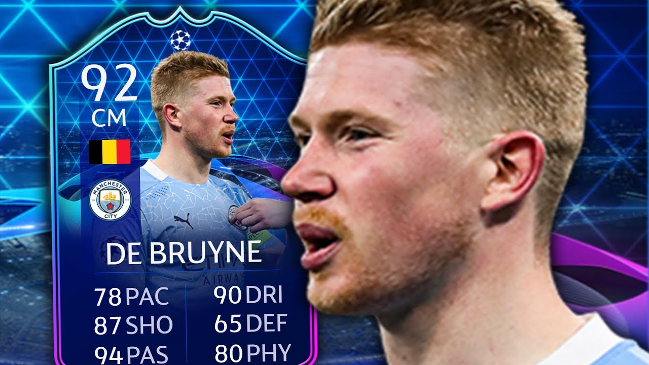 FIFA 21 TOTGS KEVIN DE BRUYNE 92 PLAYER REVIEW - YouTube