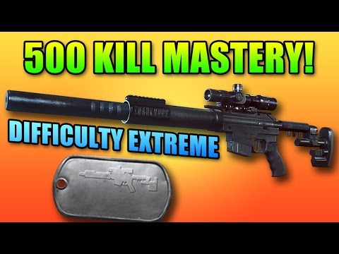 BF4 CS5 Hardest Dog Tag Mastery! | Battlefield 4 Dragon's Teeth DLC
