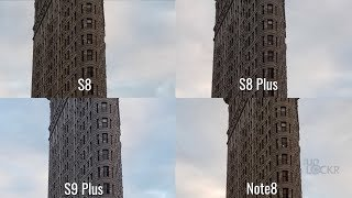 Camera Test: S9 Plus vs Note8 vs S8 Plus vs S8