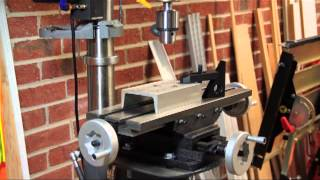 Using Compound Tables With Drill Presses