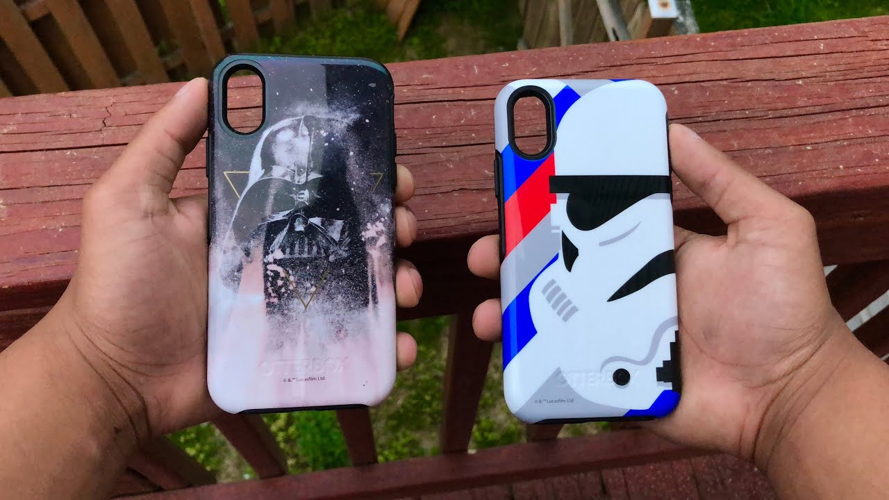 best authentic 46633 1cd0b Star Wars Otterbox iPhone X Case Review Symmetry Series Case