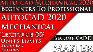 AutoCAD Mechanical Tutorial For Beginners|[Complete] AutoCAD Tutorial for Mechanical Engineering