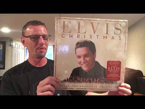 REVIEW Elvis Presley & Royal Philharmonic Orchestra Christmas LP Record The King's Court