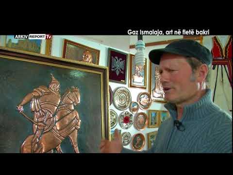 VERI JUG - GAZ ISMALAJA, ART NË FLETË BAKRI