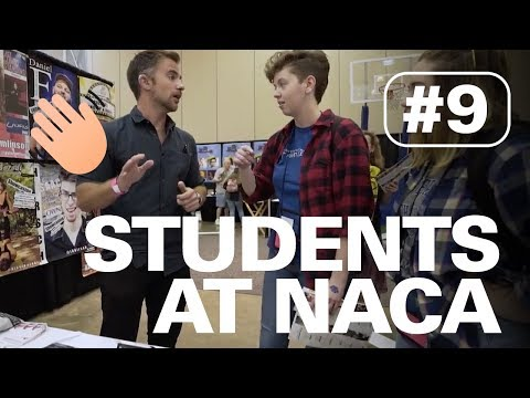 HANGING OUT WITH HARD-OF-HEARING STUDENTS AT NACA SOUTH | HERE TO HEAR TOUR #9