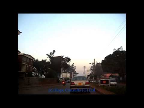Kampala City drive - Ntinda through Kamwokya to Wandegeya back in July 2009