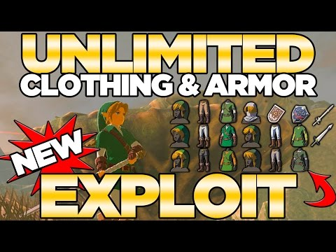 Unlimited Clothing & Armor Exploit With Amiibos In Breath Of The Wild | Austin John Plays