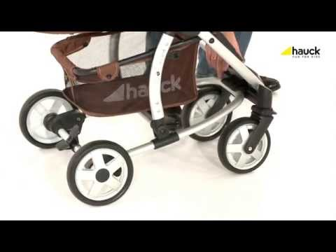Hauck Malibu All-in-One Travel System - Demonstration | BabySecurity