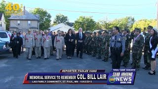SUAB HMONG NEWS: Hundreds paid tribute to Col. Bill Lair; Open Ceremony and Speeches - 10/03/2015