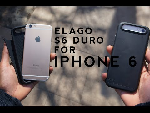 online store 5d5bd 8cffa Elago S6 Duro Case for iPhone 6 (4.7) Review