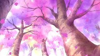 Beautiful Japanese Music | Wind Blowing Through Sakura Trees