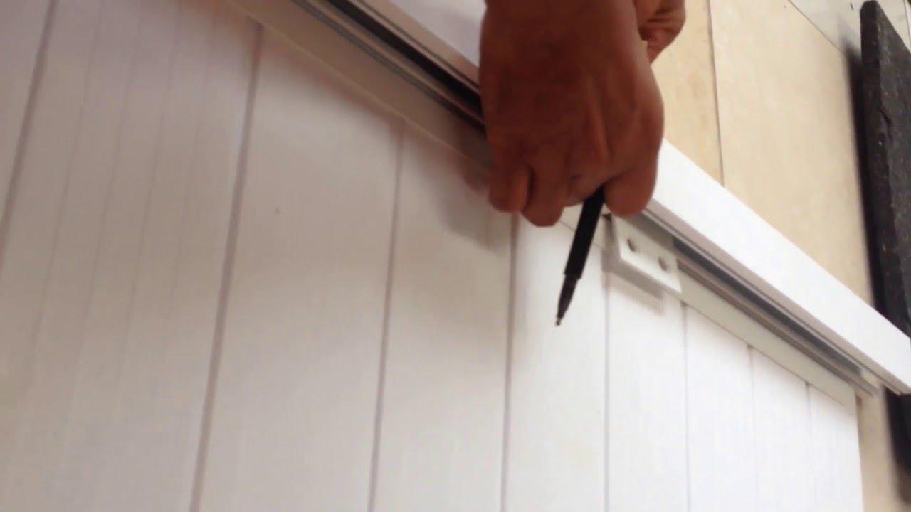 Muitas vezes Porta de closet com forro de PVC - YouTube QS57