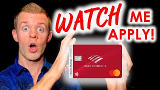 *WATCH ME APPLY* Bank of America Business Credit Card Application (Business Advantage Cash Rewards)
