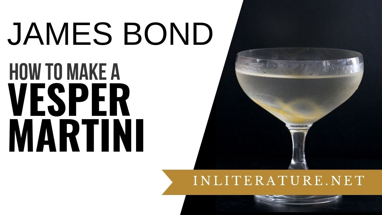 Although there is a lot of discussion on the Vesper, it is only ordered by Bond once throughout Fleming's novels – although Bond drinks the Vesper in the film Casino Royale – and by later books Bond is ordering regular vodka martinis, though he also drinks regular gin martinis.