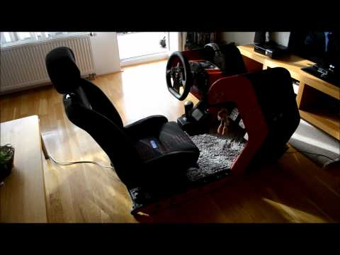 DIY sim racing rig
