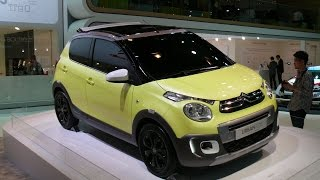 Citroen C1 URBAN RIDE Concept 2014 Videos