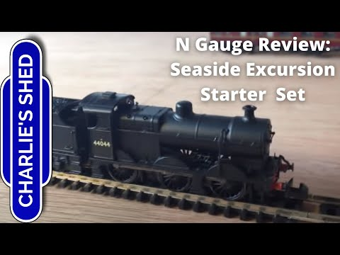 Review – N Gauge Seaside Excursion Starter Set by Graham Farish