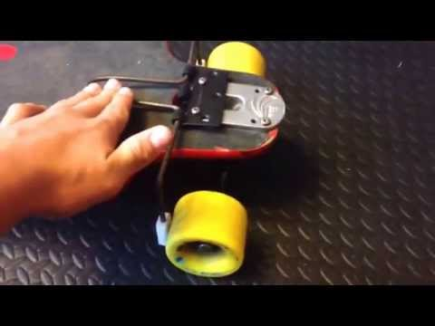 How to make a longboard brake