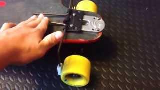 How To Make A Longboard Brake