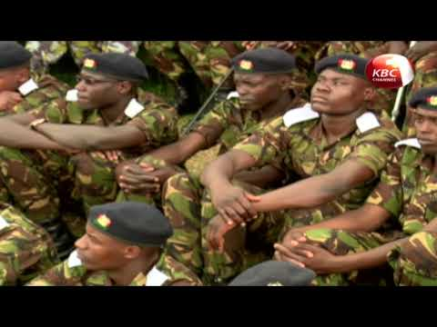 Uhuru Kenyatta challengs the Kenya Defence Force to remain steadfast in the fight against terrorism