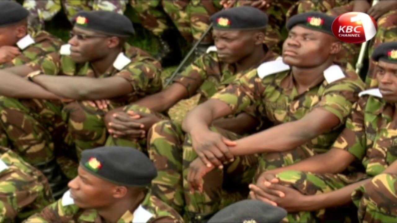 Uhuru Kenyatta challengs the Kenya Defence Force to remain steadfast in the fight against terrorism