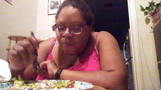 Chipotle mukbang/ storytime experience with access a ride