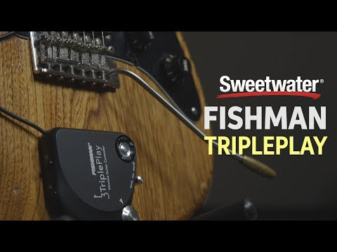 Fishman TriplePlay Wireless MIDI Pickup Update