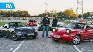 Qual é o melhor Mazda MX-5? Testámos todas as gerações!