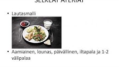 Terveellinen ja monipuolinen ruokavalio -ViVa webinaari