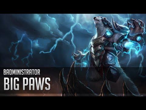 Badministrator - Big Paws (Volibear Tribute)
