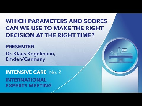 Which parameters and scores can we use to make the right decision at ... | Klaus Kogelmann | English
