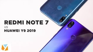Redmi Note 7 vs Huawei Y9 2019 Comparison Review