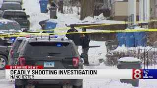 PD: Man dead after being shot in head in Manchester