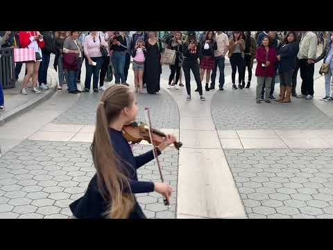 Must See Popular Videos | What's Good - Sunflower - Post Malone by Young Girl On Violin (Amazing)