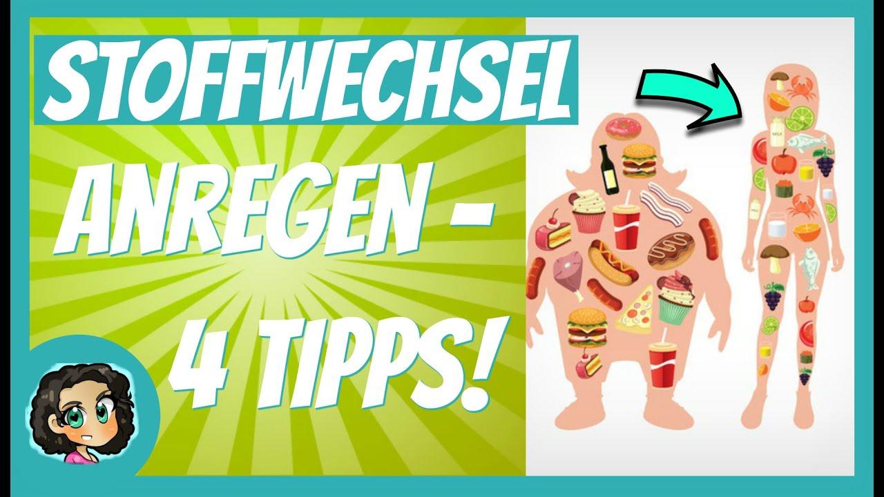 Stoffwechsel ankurbeln - Stoffwechsel anregen: 4 Tipps um..