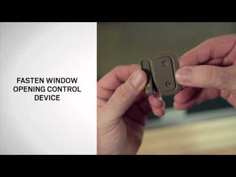 Opening Control Device Installation on Andersen® 400 Series Tilt-Wash Windows
