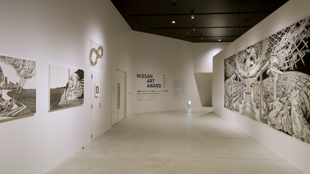 Check out the Nissan Art Award 2020 finalists at the Nissan Pavilion