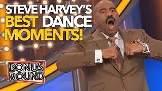 STEVE HARVEY Greatest Dance Moments On Family Feud! Some Of These are TOO Funny!