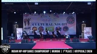 Krypocalz Crew - Mumbai | 1st place | Indian Hip-Hop Dance Championship | HHI