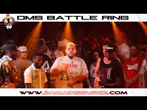 DMS BATTLE RING 20: EDZER & BIGGY MAC VS FREDDY GRUESUM & CRACK A STARR (TAG TEAM) *FRENCH*