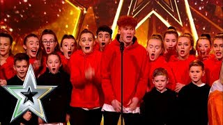 BSD dance their hearts out to win Jason's GOLDEN BUZZER! | Ireland's Got Talent 2019