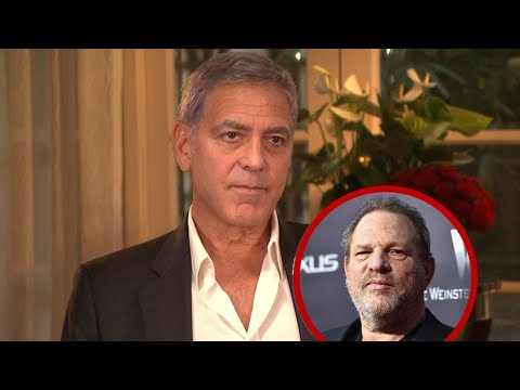 George Clooney Addresses 'Infuriating' Sexual Harassment Claims Against Harvey Weinstein