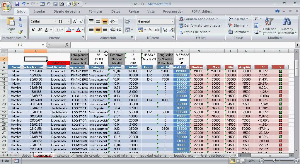 Curso de Excel Aplicado a RRHH (On line) - YouTube